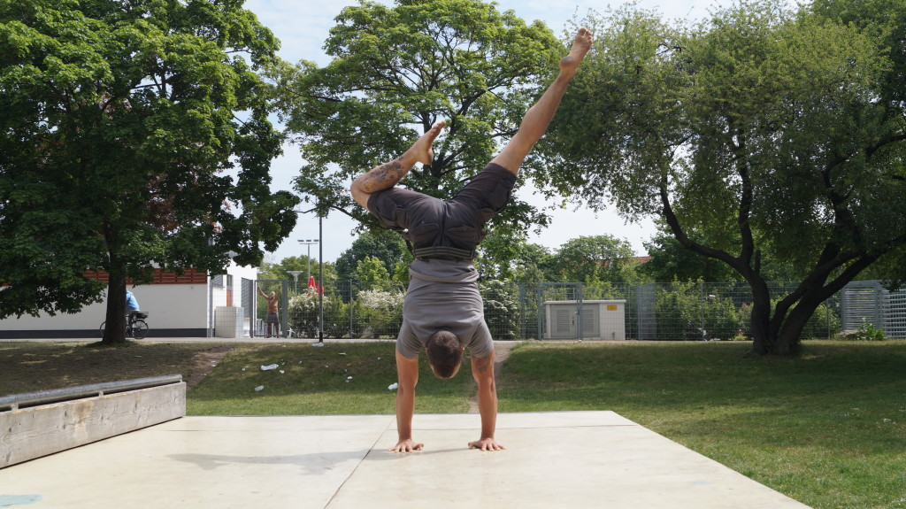 Handstand Choreo