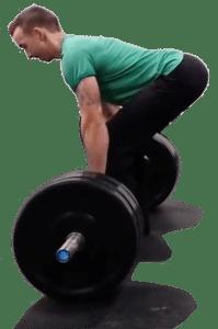Deadlift - Po trainieren - Athletischer Körper