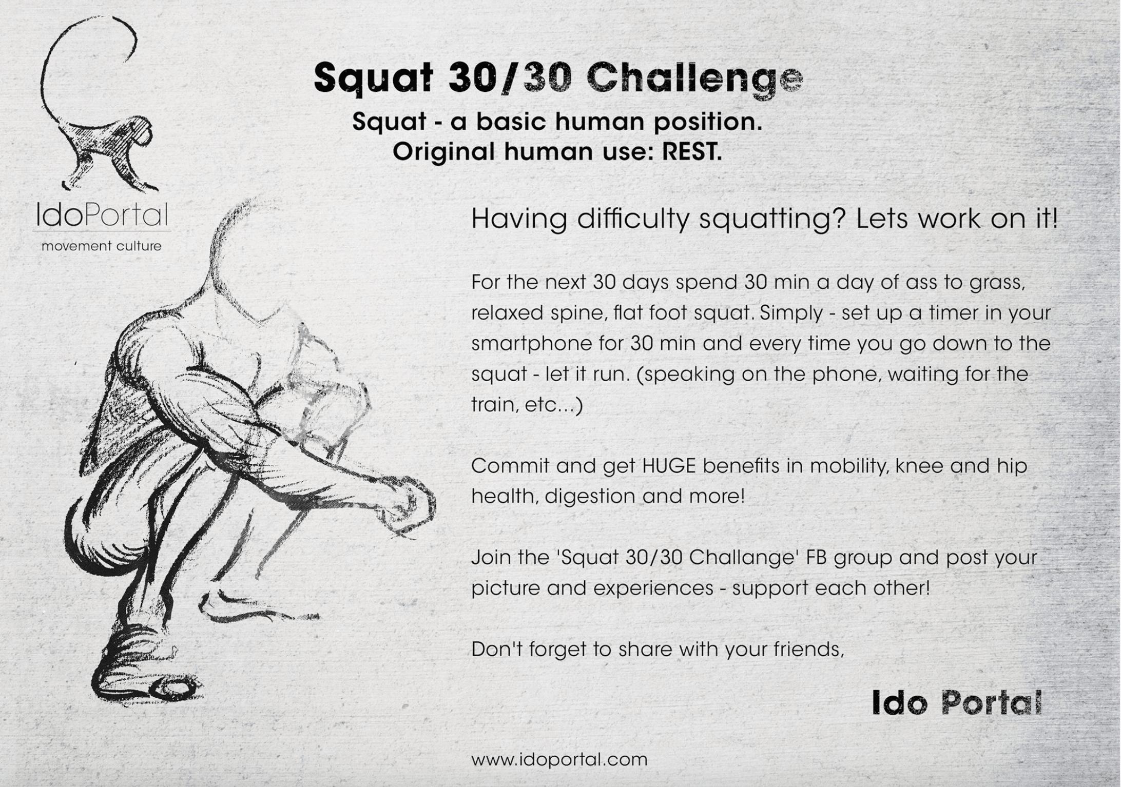 Squat Challenge Wie Du Mit 30 Minuten Am Tag Die Tiefe Hocke
