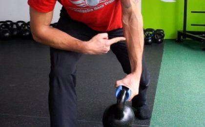 Mit Kettlebells Griffkraft trainieren 2