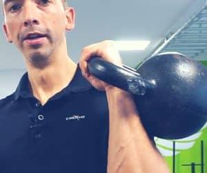Mit Kettlebells Griffkraft trainieren - Masseschwerpunkt