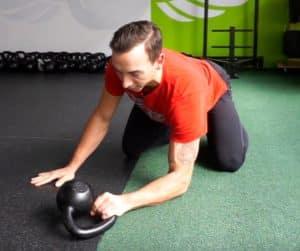 Mit Kettlebells Griffkraft trainieren - Rotation